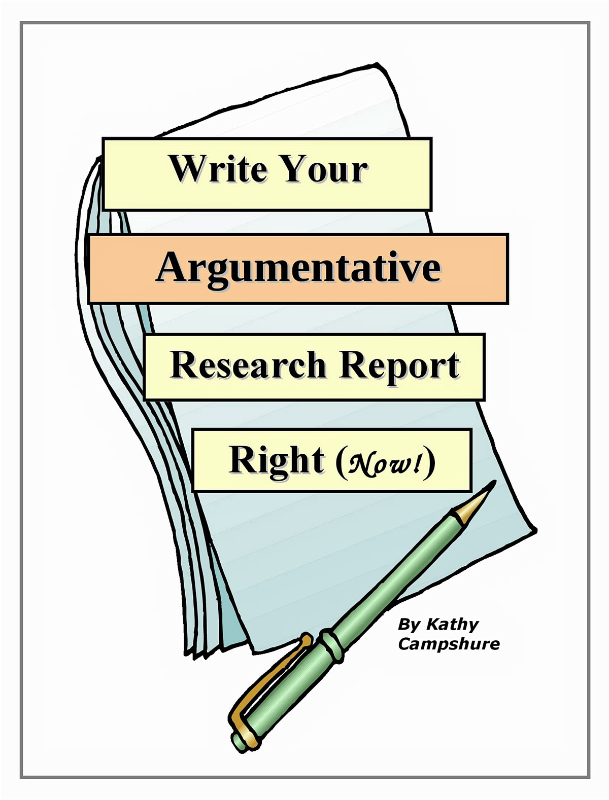 Write Your Argumentative Research Report Right (No