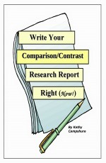 Write Your Comparison/Contrast Research Report Rig