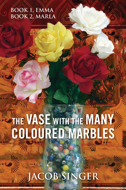 The VASE with the MANY COLOURED MARBLES